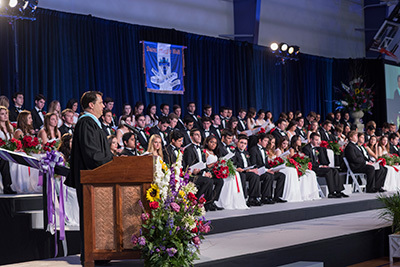 2015: Commencement Returns to Campus