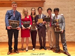 Saint Mary's Hall Speech Team Claims Top Spot in State and Nation