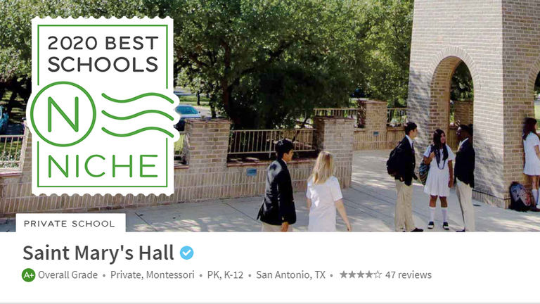 Saint Mary's Hall | San Antonio Private School | PreK - 12