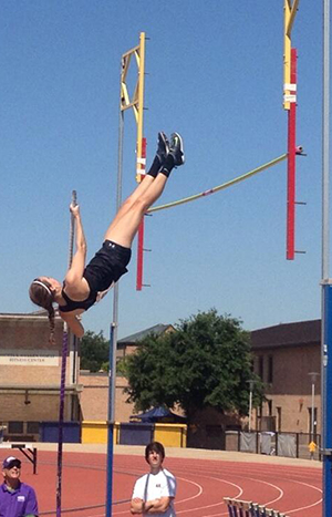 Pole Vaulter - Collegiate Athletes at Saint Mary's Hall