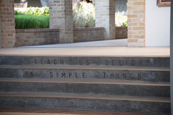 Upper School Steps