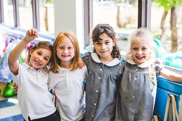Lower School Girls at Saint Mary's Hall